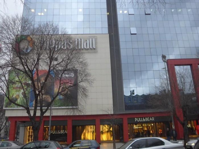 쇼핑몰안에 있는 호텔