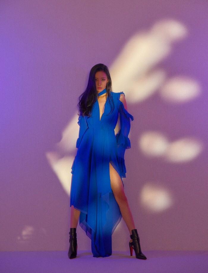 18일 서울 강남구 라마다 서울 그레이스가든 홀에서는 가수 선미의 새 싱글앨범 '주인공' 발매기념 쇼케이스가 열렸다. (사진=메이크어스ENT 제공)