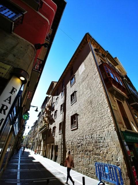 팜플로나의 거리 풍경