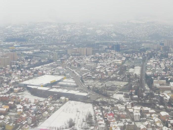 하늘에서 본 사라예보