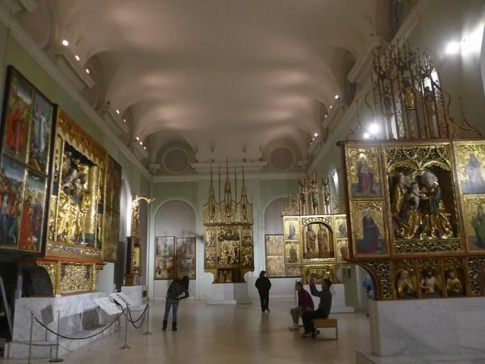 박물관 내부