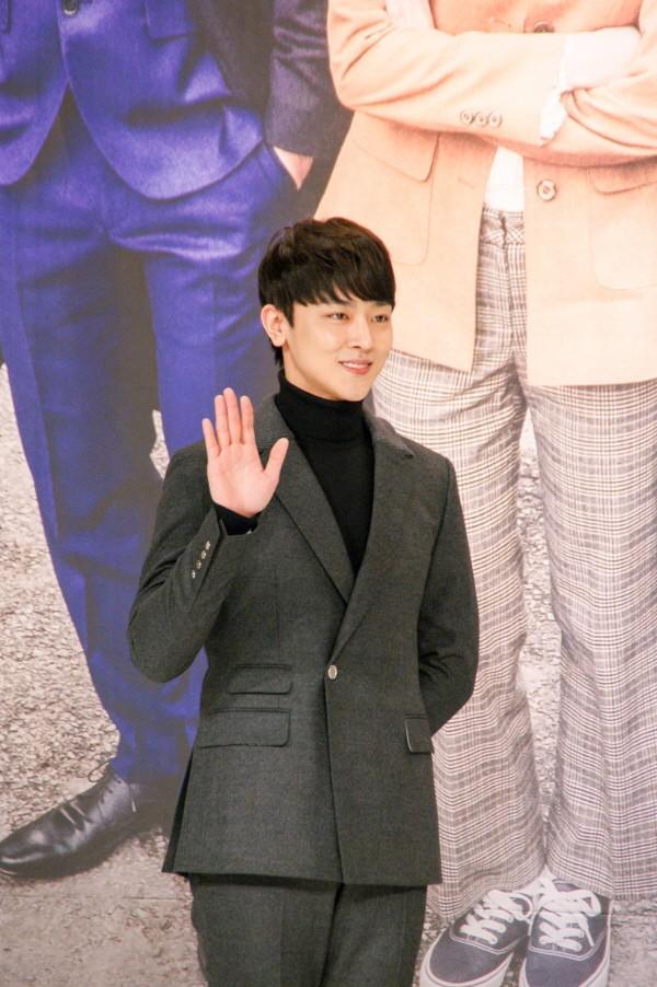 6일 서울 영등포구 타임스퀘어 아모리스홀에서는 오는 12일 오전 9시 방송될 KBS2 TV소설 '파도야파도야' 제작발표회가 개최됐다. 신인배우 장재호가 포토타임에 응하고 있다. (사진=박동선 기자)