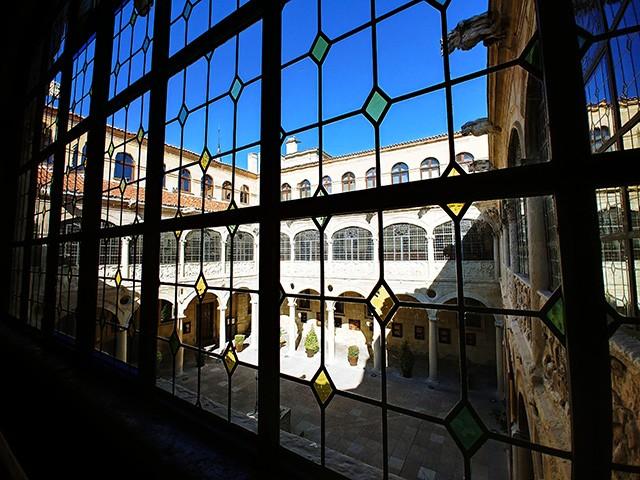 1963년 스페인 문화 자산으로 선정된 로스 구스마네스 저택 내부.