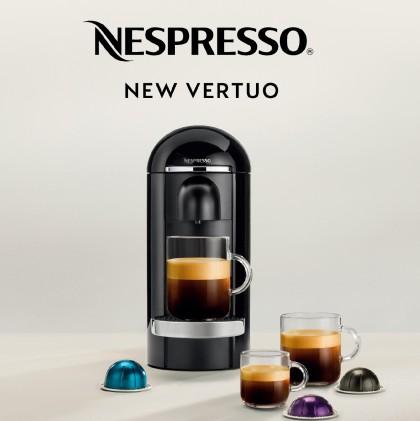 커피 브랜드 '네스프레소(Nespresso)'가 새로운 시스템 라인 '버츄오(Vertuo)'를 선보였다. 사진=네스프레소 제공