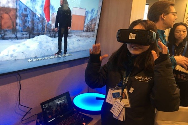 Intel's True VR Technology will be applied to 30 events at Pyeongchang Winter Olympics.