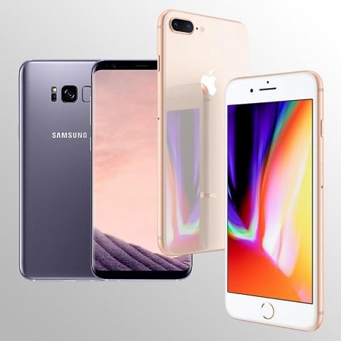 스마트상식, 번호이동 시 아이폰8, 갤럭시S8플러스 50% 할인 진행
