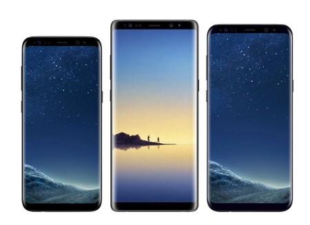 컴백폰에서 갤럭시S8, 갤럭시노트8, 아이폰8 가격을 할인하는 '컴백할인'이 진행되고 있어 관심을 끌고 있다. 사진=컴백폰 제공