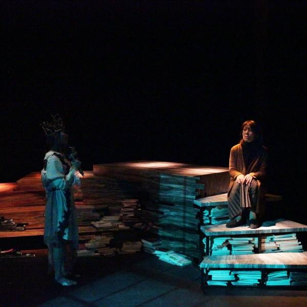 '소네트' 공연사진. 사진=극단/소극장 산울림, 아트판 제공