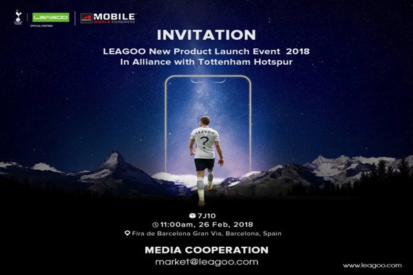 LEAGOO will be introducing its 'S9' Smartphone at MWC 2018, which is going to start in Barcelona, Spain on the 26th at 11 A.M. (Spain Time).