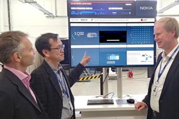 LG유플러스, 노키아-퀄컴과 5G 데이터 통신 시연 성공