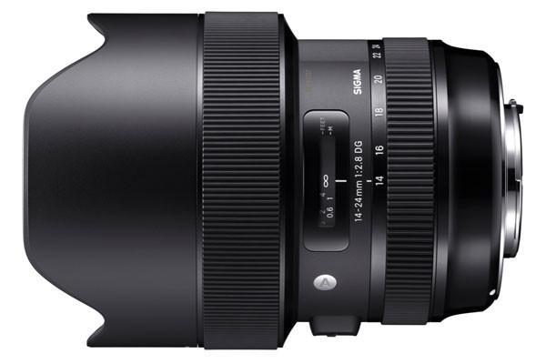 시그마 A 14-24mm F2.8 DG HSM 렌즈