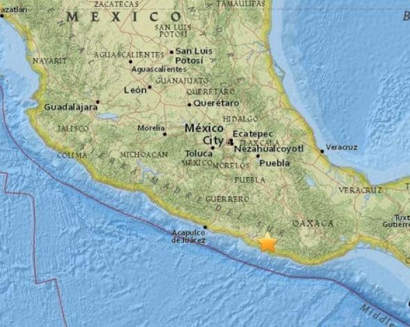 사진=멕시코 남부에 규모 7.5의 강진이 발생했다.