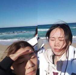 장수지, 박지우와 경포해변 나들이? '김보름 논란 키운 장본인'