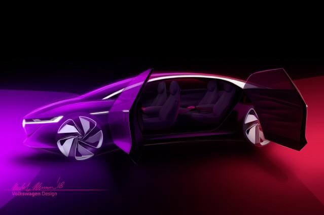 [제네바 모터쇼] 폭스바겐, 자율주행 전기차 선보인다