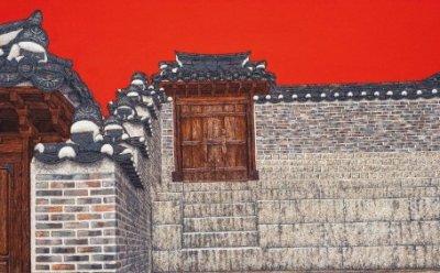 [ET-ENT 갤러리] 김기철 화백의 '우리궁궐', 궁궐이라는 한국 건축물의 문화재적 아름다움을 사실적으로 묘사하다
