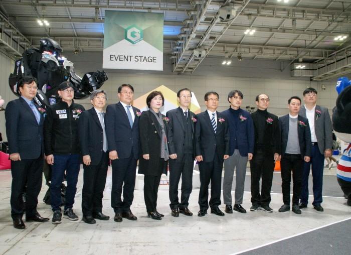 23일 광주 서구 김대중컨벤션센터에서는 제 1회 광주·전북게임전시회(G²Festa, 지투페스타) 개막식이 열렸다. (사진=박동선 기자)