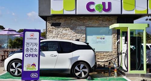 CU济州地区电动汽车充电桩