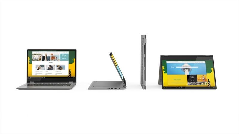 레노버의 컨버터블 폼 팩터 노트북 브랜드 요가시리즈