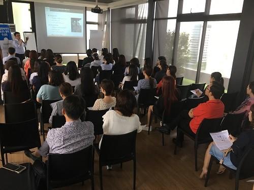 해연유학원, 싱가폴유학 국립대학교 및 홍콩대학교 입시 설명회 개최