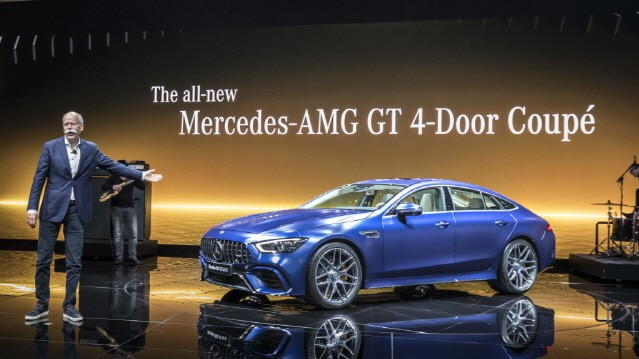 [제네바 모터쇼] 메르세데스-벤츠, AMG 라인업 선보여