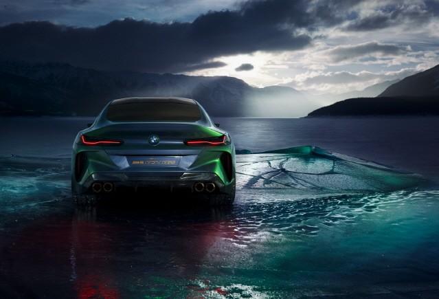 [제네바 모터쇼] BMW, 콘셉트 M8 그란 쿠페 공개