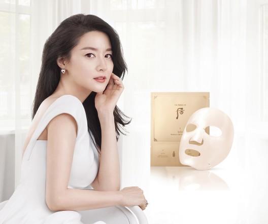 LG생활건강의 뷰티 브랜드인 '후'가 새롭게 '비첩 3-STEP 마스크'를 선보였다. 사진=LG생활건강 제공
