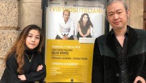 {htmlspecialchars(Duo VIVID(듀오비비드), 베로나 필하모닉 홀에서 I Virtuosi Italiani와 협연)}