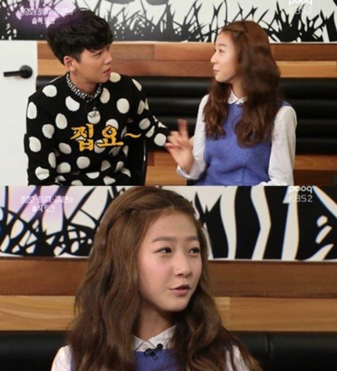 사진=김새론이 과거 방송된 KBS2 '연예가중계'에서 배우 정경호와 함께 출연해 솔직한 입담을 뽐냈다.