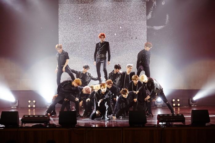 14일 서울 성북구 고려대학교 화정체육관에서는 그룹 NCT의 새 앨범 'NCT 2018 EMPATHY(엔시티 2018 엠파시)' 발매기념 쇼케이스가 개최됐다. (사진=SM엔터테인먼트 제공)