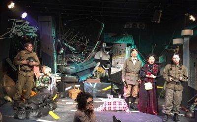 [ET-ENT 연극] '전쟁터의 소풍' 디테일한 표정연기와 감정 조절을 보여준 박시내