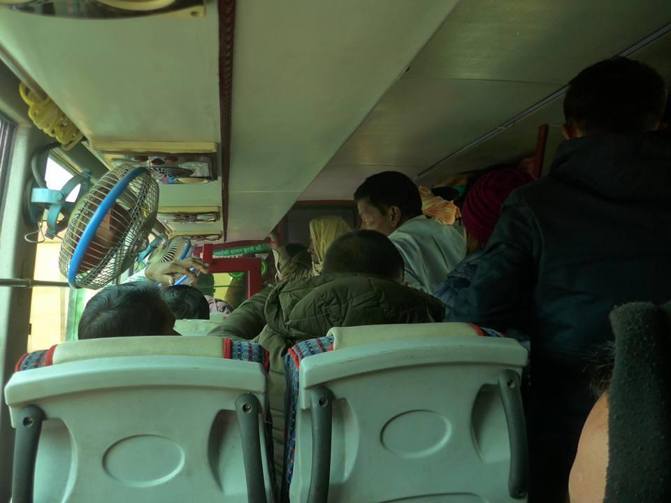 버스를 타고