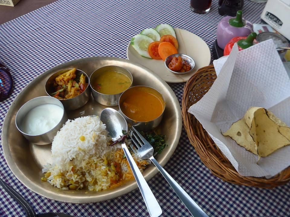 인도식 야채정식