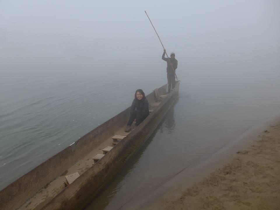 카누를 타고