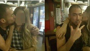 정상수, 금발의 여성과 뽀뽀 사진 눈길...팬과 데이트한 사연 공개하기도