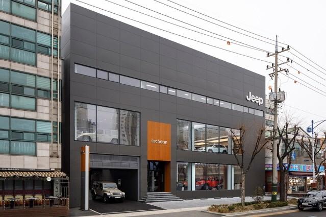 지프, 두 번째 전용 전시장 인천에 오픈