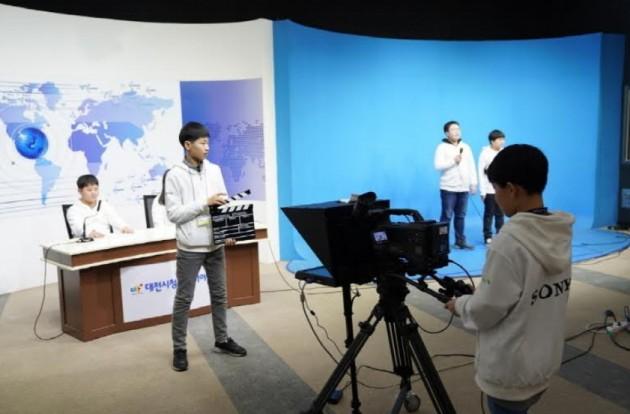 소니코리아 사진제공 : 대전시청자미디어센터의 미디어 체험 프로그램을 실습중인 청소년들