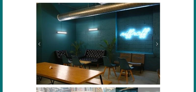 리프라프 카페 공간