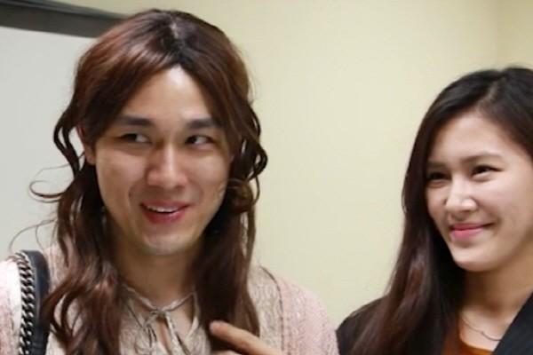 '낫베이직' 애슐란 준(문몰리 역), 김요미(문모이 역). 사진='낫베이직' 제공