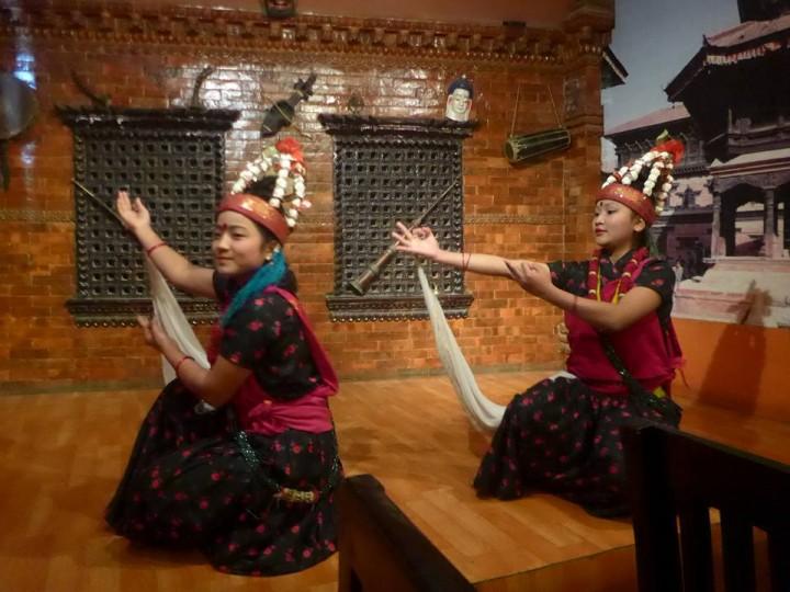 네팔 전통 공연