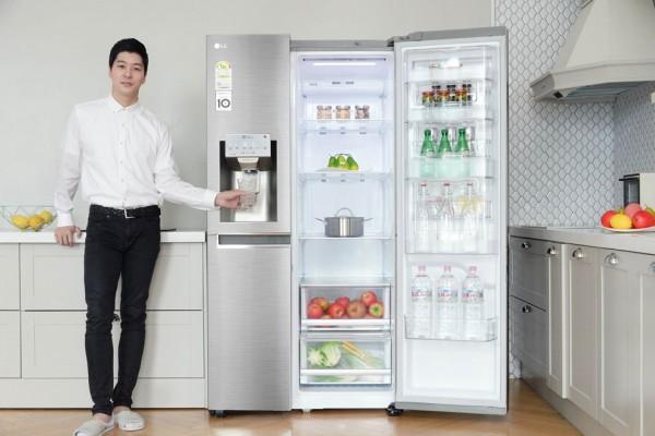 사진 = LG전자 2018년형 디오스 양문형 냉장고