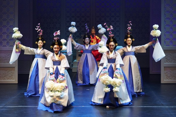 '궁: 장녹수전' 공연사진. 사진=정동극장 제공