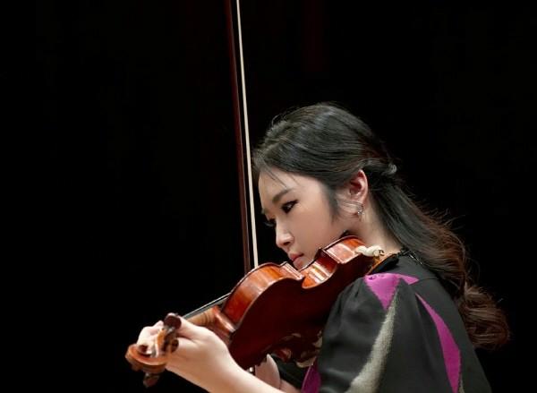 '바이올리니스트 카라 남 리사이틀' 공연사진. 사진=바이올리니스트 카라 남 리사이틀 제공