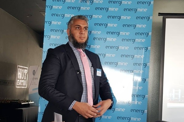 CEO Omar Rahim of EnergiMine introduced its reasons on entering South Korean market and its future plans at a press conference that was held at Hotel Cappuccino on the 11th.