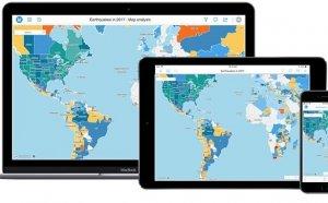 위치 데이터 기반 지형 공간 분석 플랫폼 '마이크로스트레티지 10.11' 출시…스마트폰에서도 자유자재