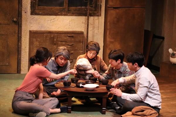 '마당 씨의 식탁' 공연사진. 사진=문화공작소 상상마루 제공