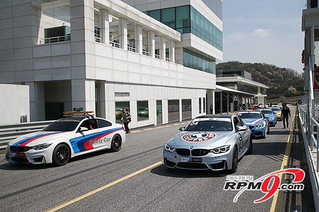 CJ대한통운 슈퍼레이스 미디어데이 'BMW M4 쿠페 원메이크' (사진 황재원 기자)