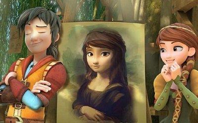 [ET-ENT 영화] '레오나르도 다 빈치' 실존 인물을 바탕으로 상상력이 발휘된 애니메이션