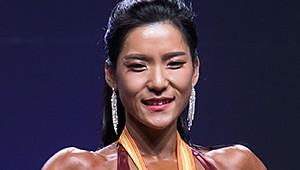 [포토] PCA코리아 이다현, 스포츠 모델 여자 미디엄 부문 1위