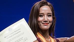 [포토] PCA 코리아 이수정, 스포츠 모델 여자 톨 부문 1위