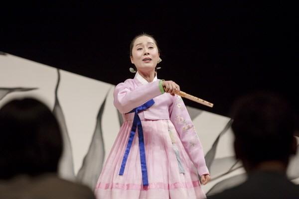 '완창판소리' 4월 '박애리의 춘향가-김세종제' 공연사진. 사진=국립극장 제공